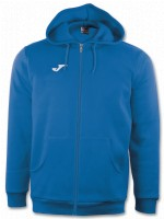 more info on Joma Combi Cotton Full Zip Hooded Jacket (Junior)